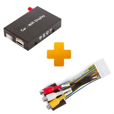 Адаптер дублирования экрана Smartphone iPhone и кабель подключения для мониторов Toyota, Citroen и Peugeot X Touch X Nav