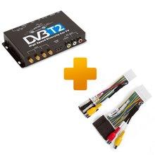 Цифровой тюнер DVB T2 и кабель подключения для мониторов Toyota Touch, Scion Bespoke - Краткое описание