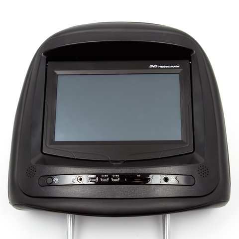 "7"" Car Headrest TFT LCD Touchscreen Monitor with DVD Player"