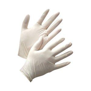 Латексные перчатки размер L, 100 шт. упаковка