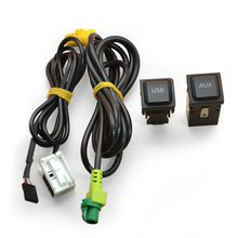 OEM AUX and USB Cable for Volkswagen with RNS510 RCD510 Head Unit - Short description