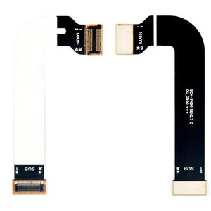 Flat Cable Samsung F490, (for mainboard, with components)
