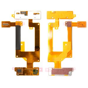 Flat Cable for Nokia C2-03, C2-06, C2-07, C2-08 Cell Phones, (for mainboard, with keypad module, with components)