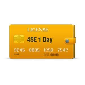 4SE 1 Day License