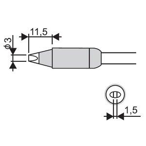Soldering Iron Tip Goot RX-85HRT-3D
