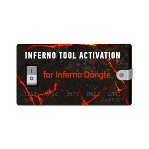 Inferno Tool 1 Year Activation for Inferno Dongle