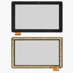 "Touchscreen China-Tablet PC 10,1""; Prestigio MultiPad Wize (PMT3111), (10,1"", 159 mm, 262 mm, 60 pin, capacitive, black) #MB1019Q5/HC261159A1/FPC017H V2.0"