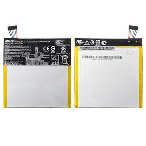 Battery for Asus FonePad 7 FE170CG Tablet, (Li-Polymer, 3.8 V, 3910 mAh) #C11P1327