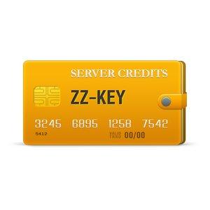 Créditos del servidor ZZ-Key