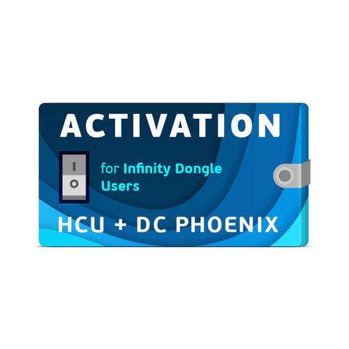 Activación HCU + DC-Phoenix para los usuarios de Infinity Dongle