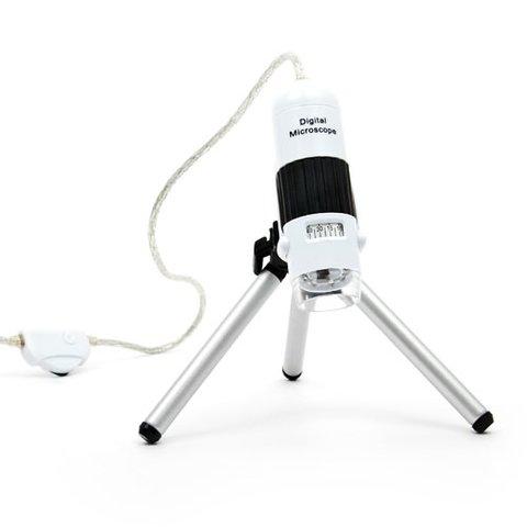Цифровий USB мікроскоп Microsafe ShinyVision MM 828C W зі штативом