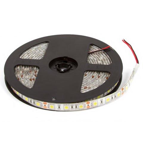 Світлодіодна стрічка SMD5050 біла, 300 світлодіодів, 12 В DC, 5 м, IP65