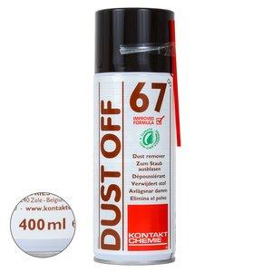 Стиснуте повітря з ефектом заморожування Kontakt Chemie DUST OFF 67 (400 мл)