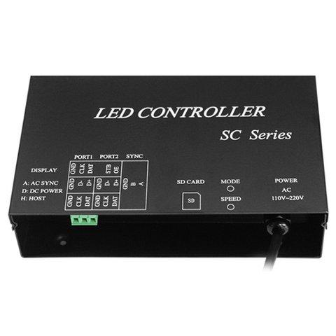 Світлодіодний контроллер H807SC для DMX консолі