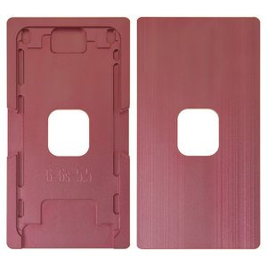 Фиксатор дисплейного модуля для мобильных телефонов Apple iPhone 6 Plus, iPhone 6S Plus, алюминиевый, для приклеивания стекла в рамке