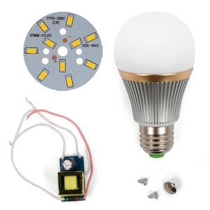 Juego de piezas para armar lámpara LED regulable SQ-Q22 5730 5 W (luz blanca cálida, E27)
